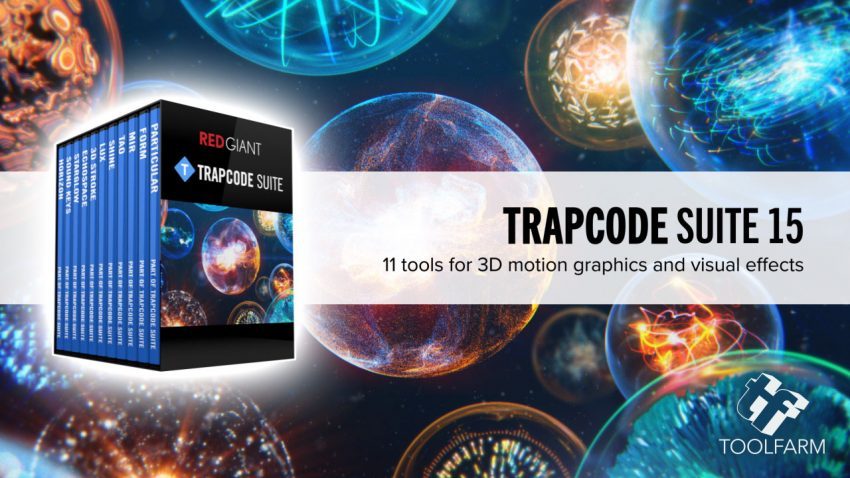 Red Giant Trapcode Suite Cover